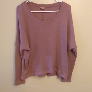 4/$20 Cape juby pink large sweater